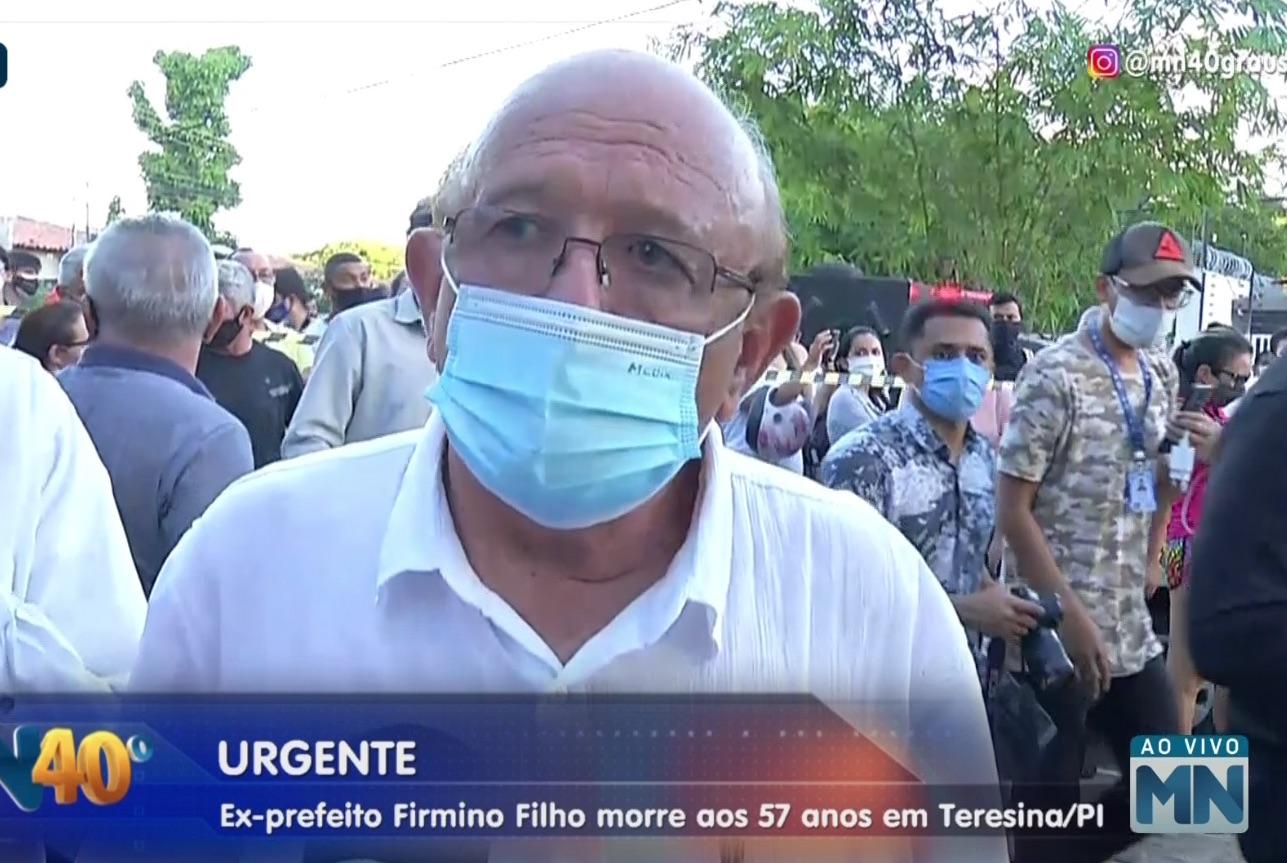 Vereador Edson Melo concedeu uma entrevista no local e lamentou a morte - Foto: Reprodução