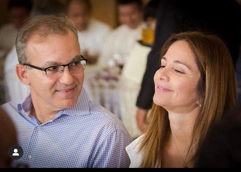 Lucy Soares fez questão de agradecer as homenagens a Firmino Filho (Foto: divulgação)