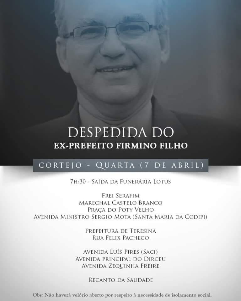 Lideranças de Monsenhor Gil lamentam pela morte de Firmino - Imagem 12
