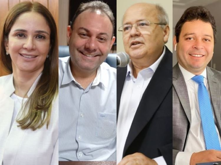 Lucy Soares, Jeová Alencar, Charles Silveira e Evandro Hidd
