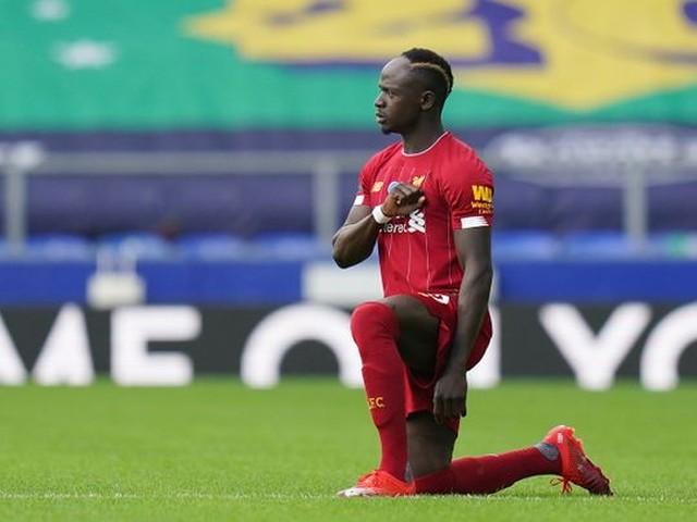 Sadio Mané, atacante do Liverpool — Foto: AFP