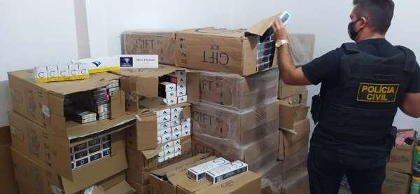 Meio milhão de cigarros apreendidos no Ceará/Governo do Ceará