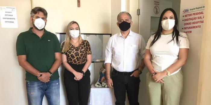 Pablo e Ítalo anunciam 20 leitos Covid-19 para Hospital de Picos
