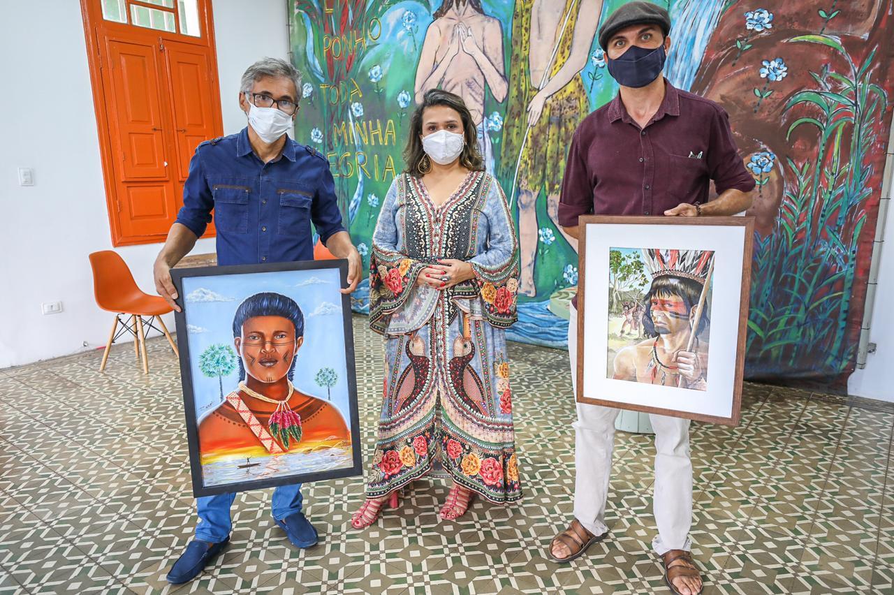 """Artistas participaram do concurso """"Um rosto para Mandu Ladino"""" (Foto: Divulgação)"""