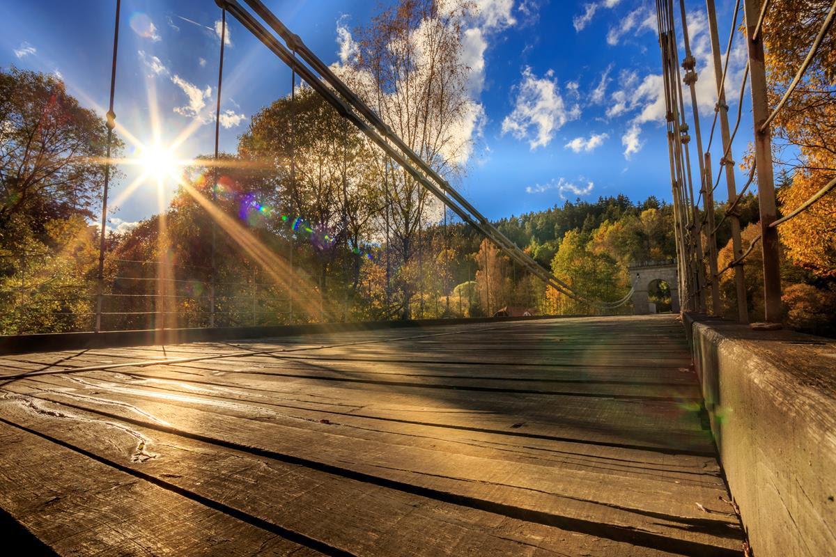 Última pontes de correntes (Divulgação)