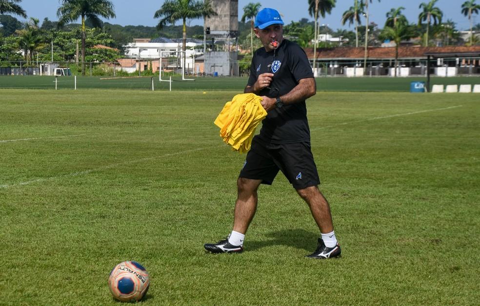 Paysandu agora quer buscar caminho dos resultados positivos - Foto: Caio Romano/Paysandu