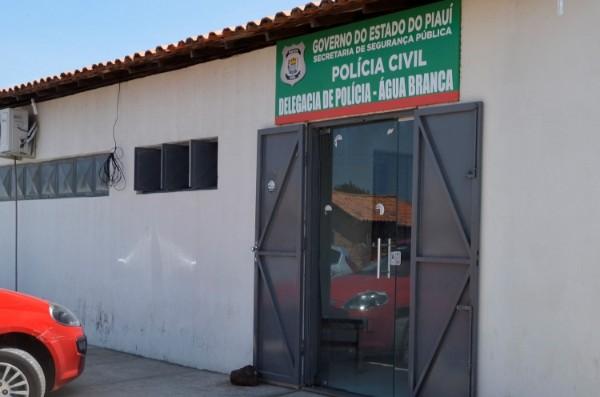 Delegacia Regional da Polícia Civil de Água Branca - Foto: Divulgação