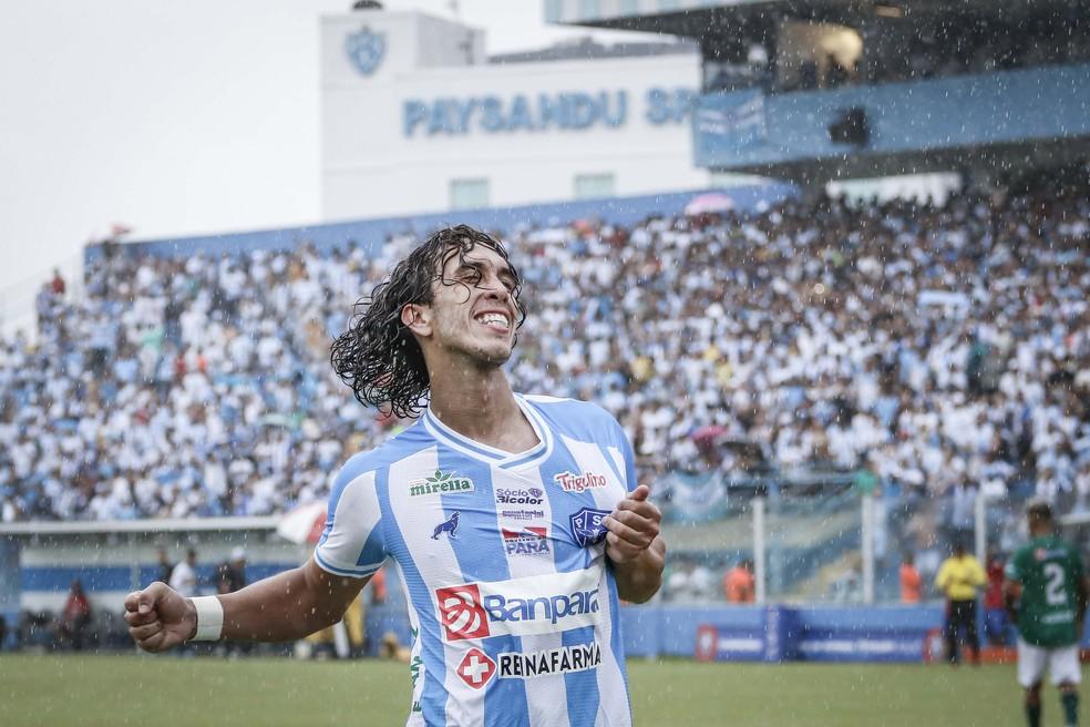 Nicolas se destaca como artilheiro do Parazão - Foto: Jorge Luiz/Paysandu