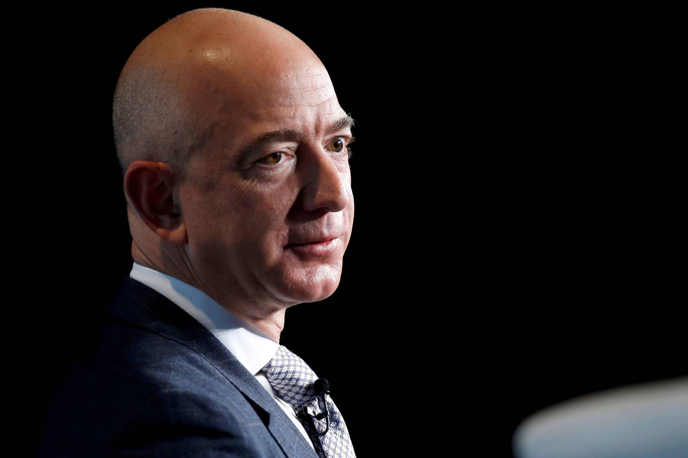 Jeff Bezos, CEO e fundador da Amazon - Foto: Joshua Roberts/Reuters