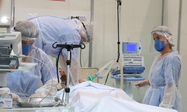 Paciente entubado - Foto: Divulgação