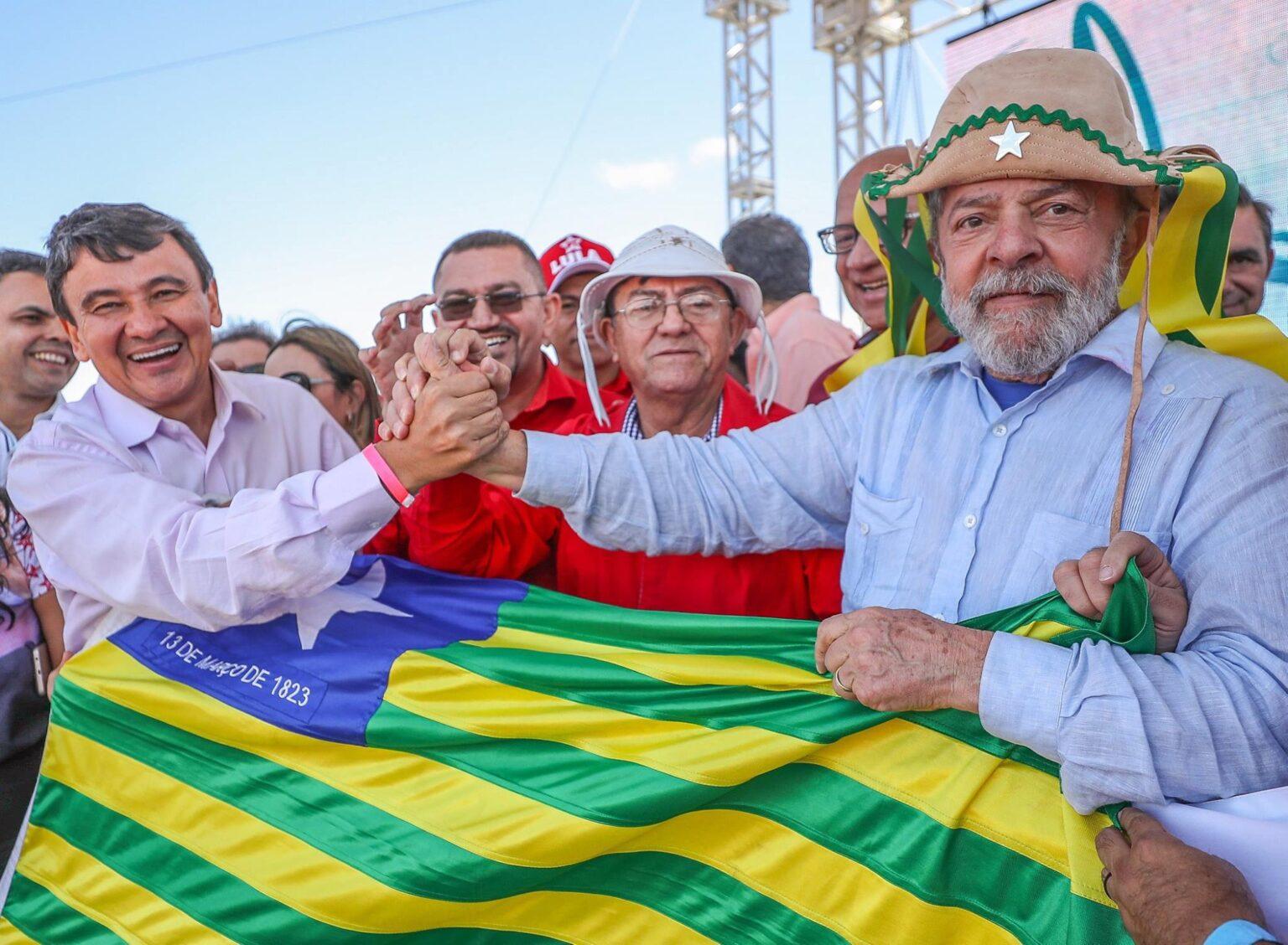 Estratégia política de Lula pode levar Wellington Dias a disputar como deputado federal (Foto: Ricardo Stuckert)