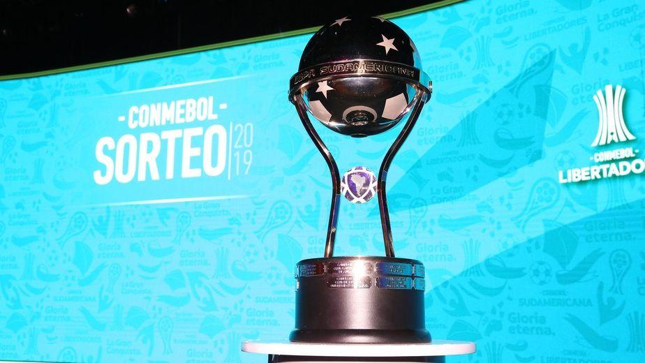 Sorteio da Sulamericana 2021 feito pela Conmebol - Foto: Divulgação