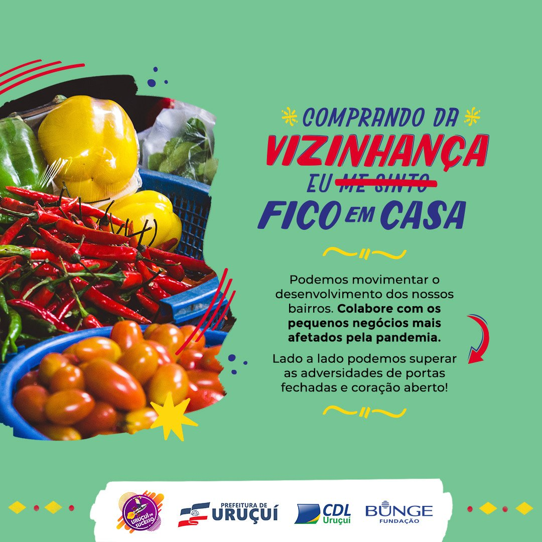 Campanha incentiva comércio local em Uruçuí - Imagem 1