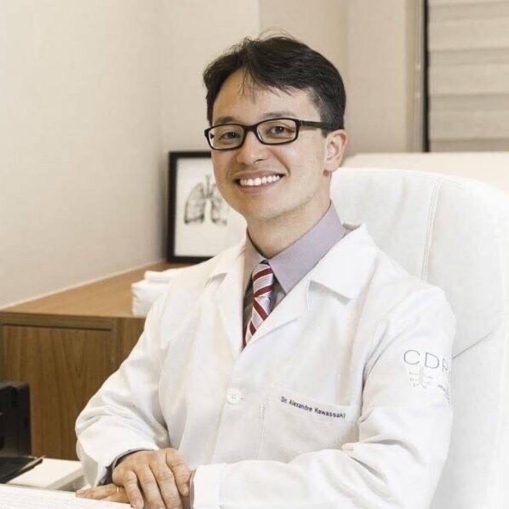 Pneumologista Alexandre Kawassaki fala da importância da máscara/Divulgação