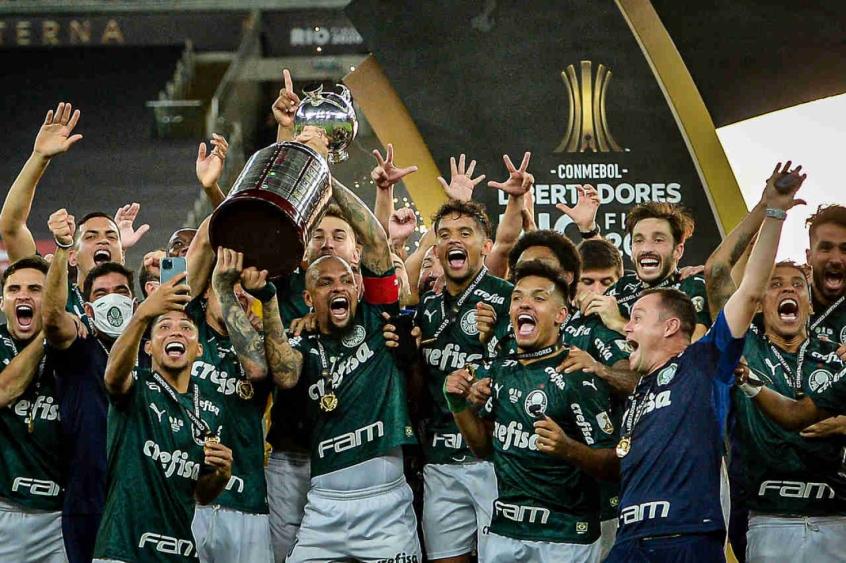 Palmeiras foi o campeção da Libertadores de 2020- Foto: Palmeiras