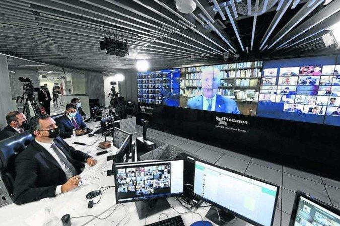 A CPI da Covid foi instalada na últiam terça-feira (27) (Foto: Jefferson Rudy/Agência Senado)