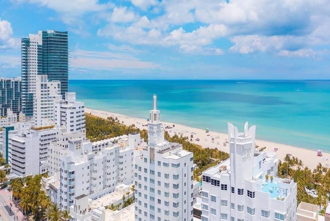 Miami Beach é bastante procuraca por brasileiros. (Foto: Reprodução-Instagram-Prefeitura de Miami Beach)