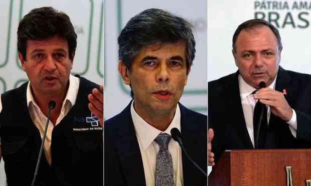 Ex-ministros da Saúde serão ouvidos na CPI da Covid (Foto: Marcello Casal Jr e Fábio Rodrigues Pozzebom/Agência Brasil)