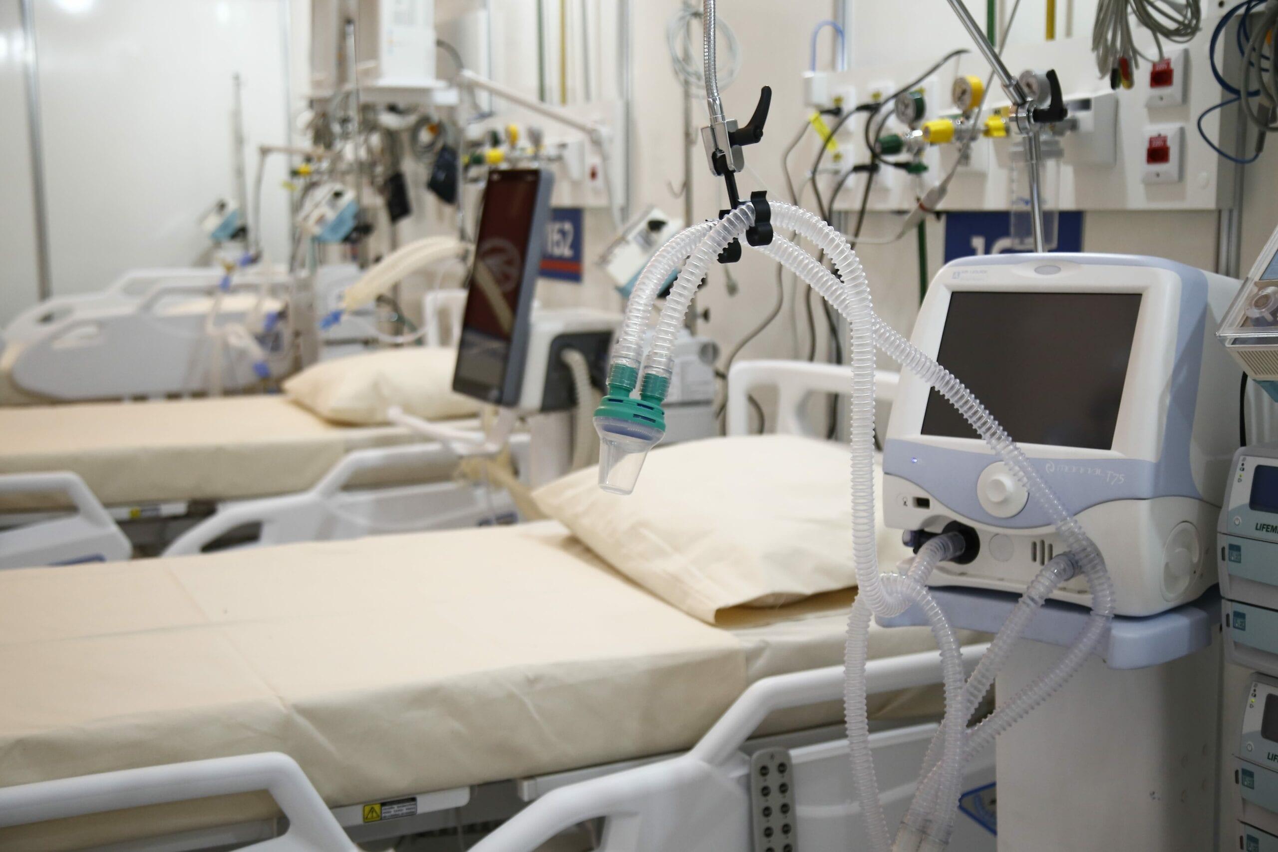 Leitos de UTI em hospital