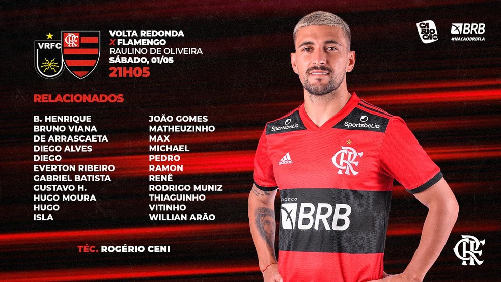 Imagem: Flamengo
