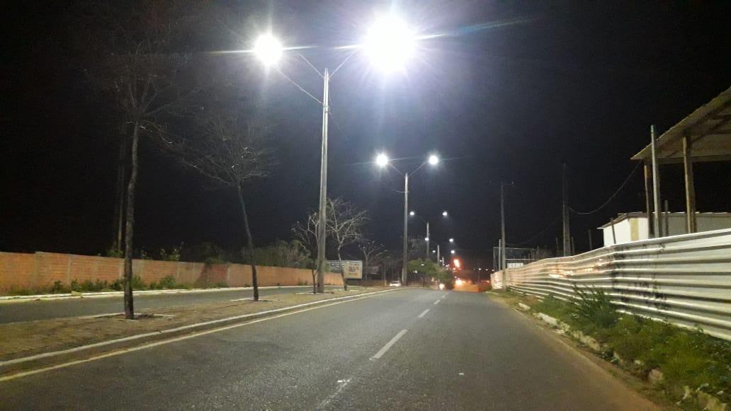 Em 2021, o Projeto E+ Luzes na Cidade prevê investimentos de mais de R$ 5,2 milhões