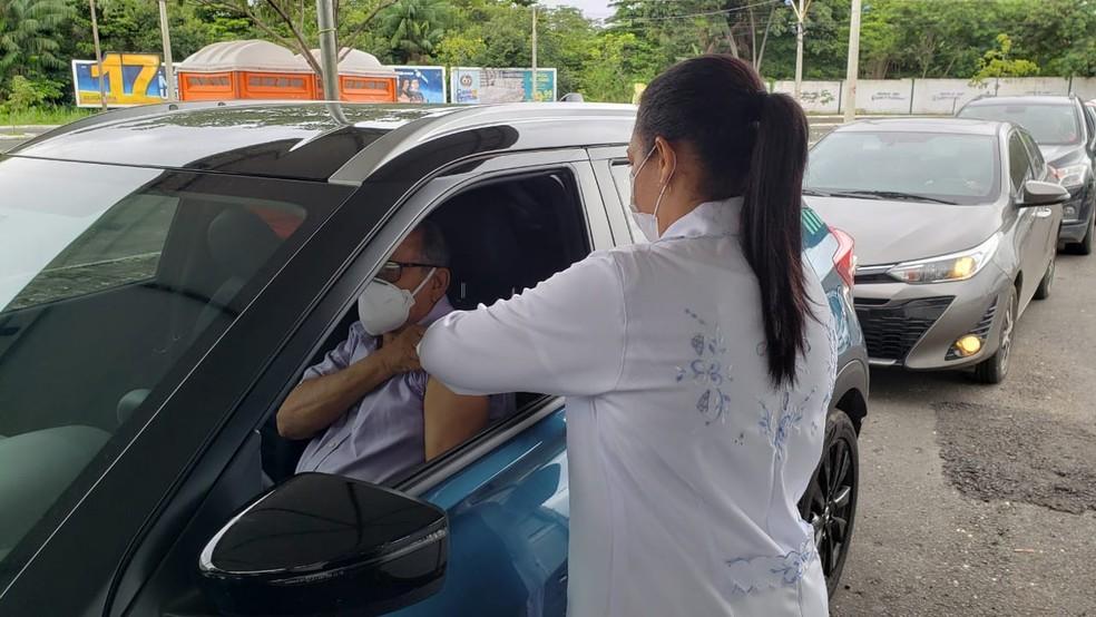 Público de vacinação desta segunda-feira foi ampliado pela FMS - Foto: Divulgação/FMS