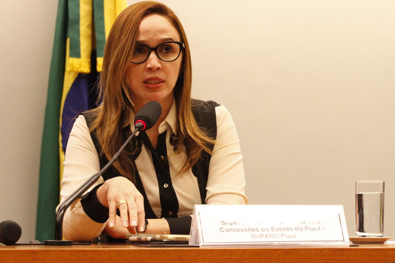 Superintendente do Programa de PPP do Piauí, Viviane Moura