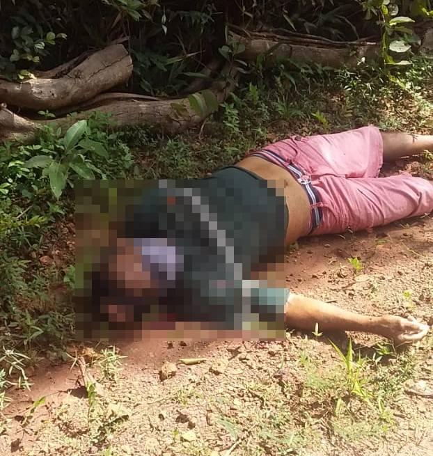 Idoso é morto durante assalto na zona Rural de Esperantina (Foto: Reprodução/ WhatsApp)