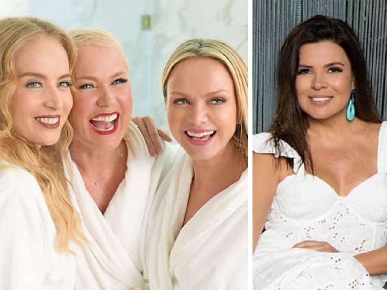 As apresentadoras Angelica, Xuxa e Eliana tem um grupo de whatss e Mara Maravilha não está