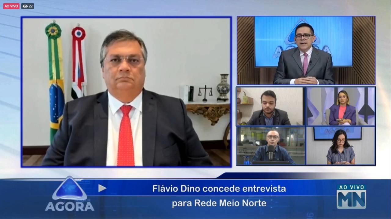 """""""O Brasil não pode ficar no atual ritmo de vacinação"""", diz Dino - Imagem 1"""