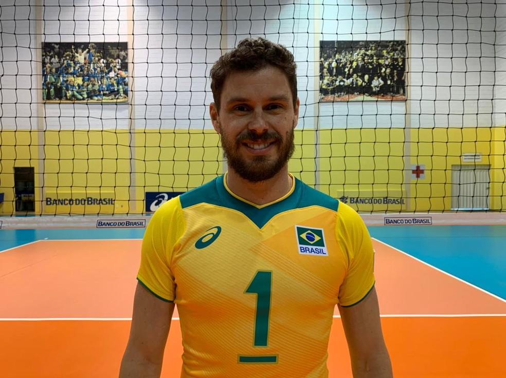 Vôlei brasileiro apresenta seu manto novo - Imagem 1