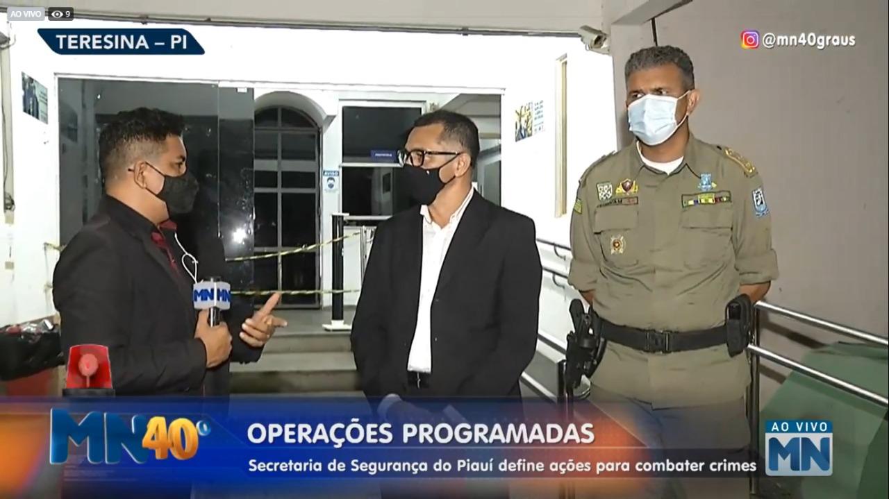 Coronel Rubens Pereira e Major Audivan Nunes