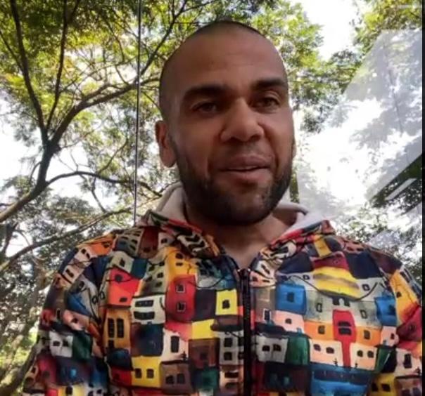 Daniel Alves será o consultor da seleção da Lampions - Foto: Reprodução