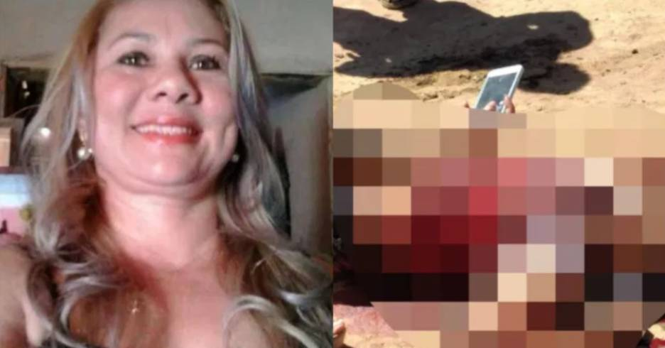 Técnica de enfermagem é morta a facadas no Sul do Piauí (Foto: Reprodução/ WhatsApp)