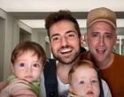 Amor! Veja casais famosos LGBTQ+ que se tornaram pais incríveis