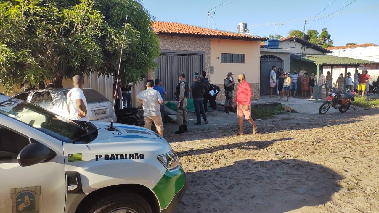 Sargento foi morto a tiros na porta de residência na zona Sul (Foto: Reprodução/ WhatsApp)