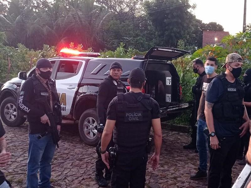 Polícia Cvil deflagra operação e prende acusados de roubo majorado (Foto: Divulgação)