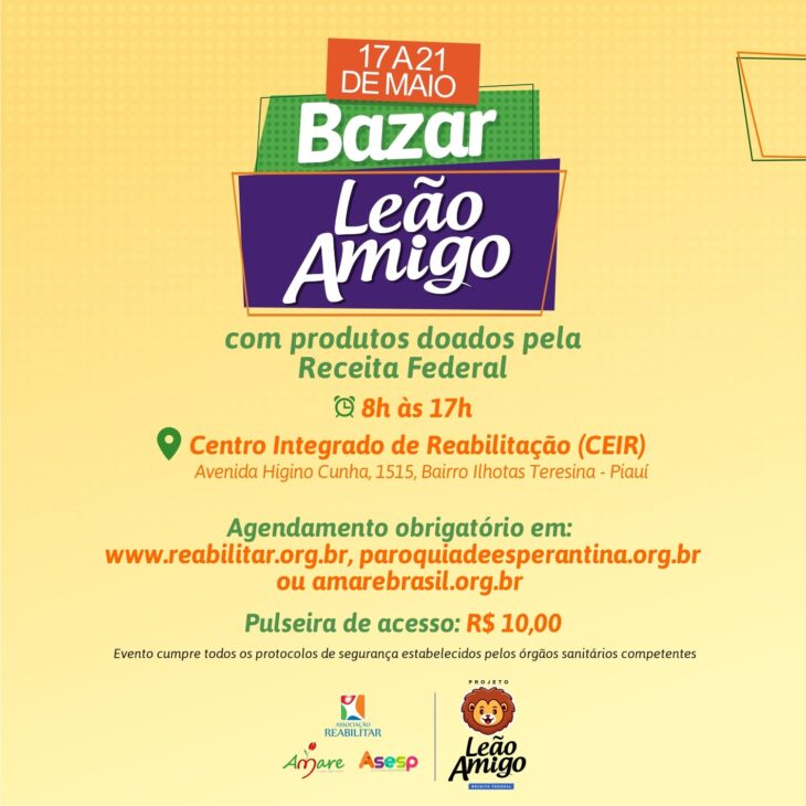 Ceir sediará bazar com produtos apreendidos pela Receita Federal - Imagem 2