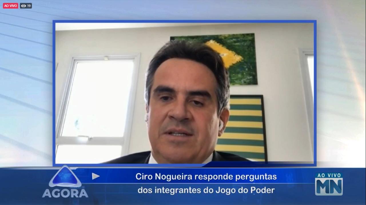 Ciro Nogueira diz que tem o sonho de governar o Piauí