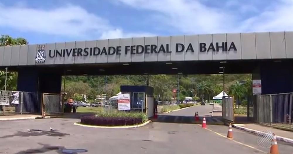 Campus da UFBA em Salvador, em imagem de arquivo. — Foto: Reprodução/ TV Bahia