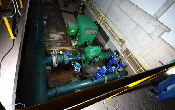 Fornecimento de águas em 80% de Teresina será interrompido no proximo domingo (Foto: Águas de Teresina)