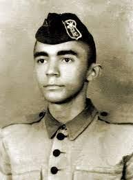 Gonzagão no exército, em cargo no 25º BC de Teresina. Crédito: Exército Brasileiro.
