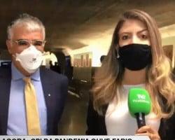 Senador Eduardo Girão diverge sobre atrasos de vacinas na CPI Covid