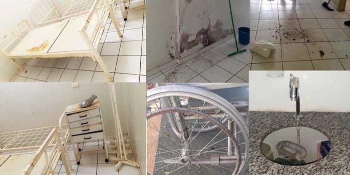 UBS de Cajazeiras do PI é encontrada em condições de calamidade
