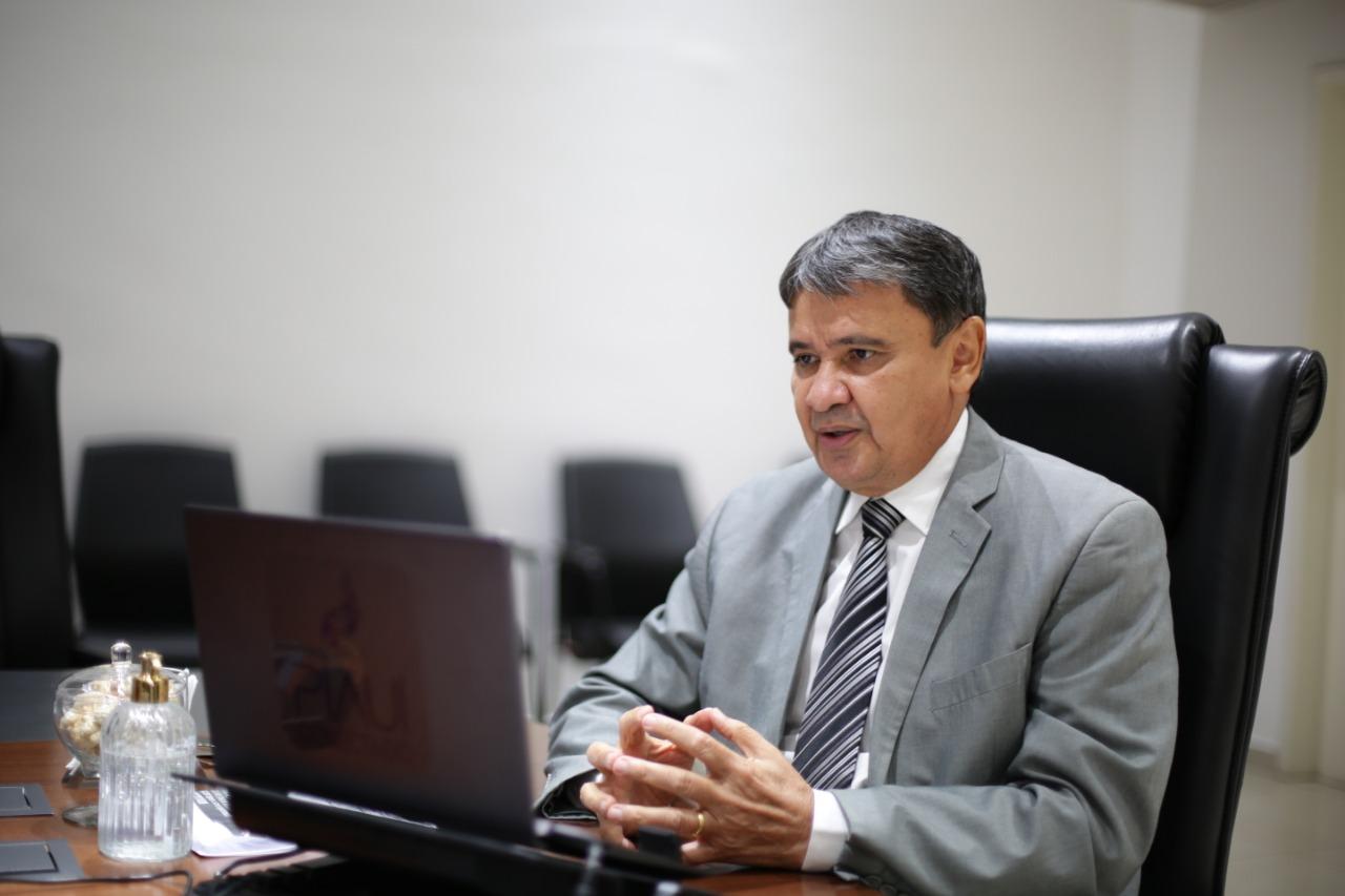 Governador Wellington Dias pediu sanção de renovação da Lei Aldir Blanci (Foto: Régis Falcão)