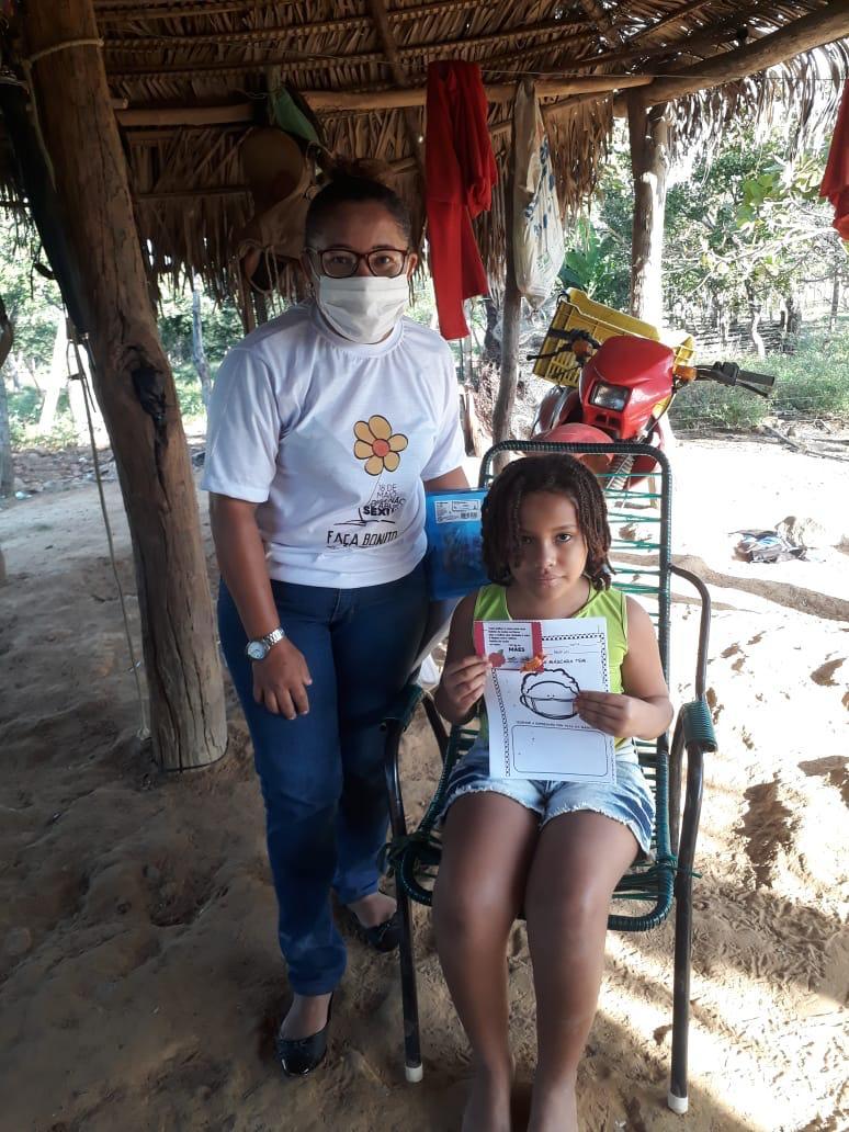 Crianças de Cajazeiras do Piauí  recebem atividades do SCFV - Imagem 5