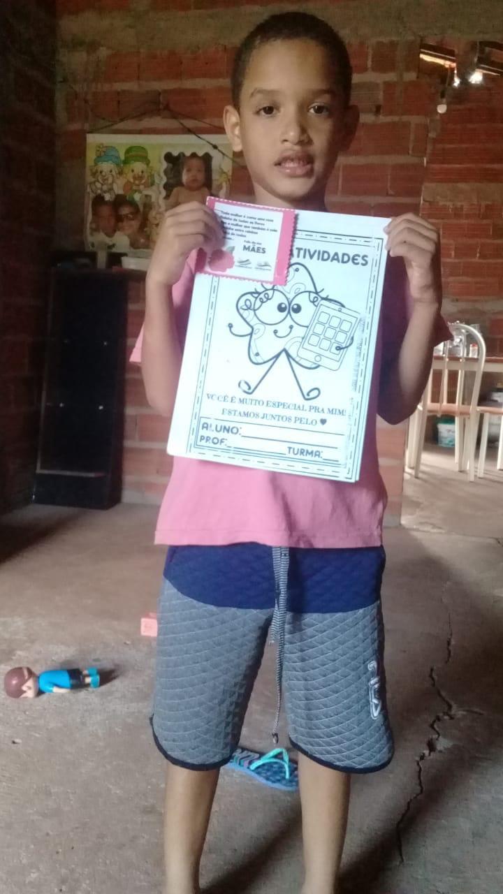Crianças de Cajazeiras do Piauí  recebem atividades do SCFV - Imagem 4