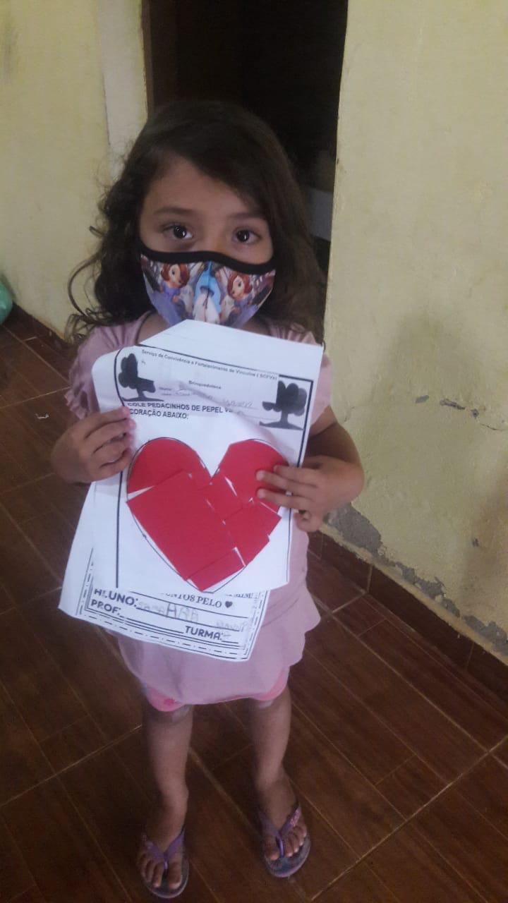 Crianças de Cajazeiras do Piauí  recebem atividades do SCFV - Imagem 1