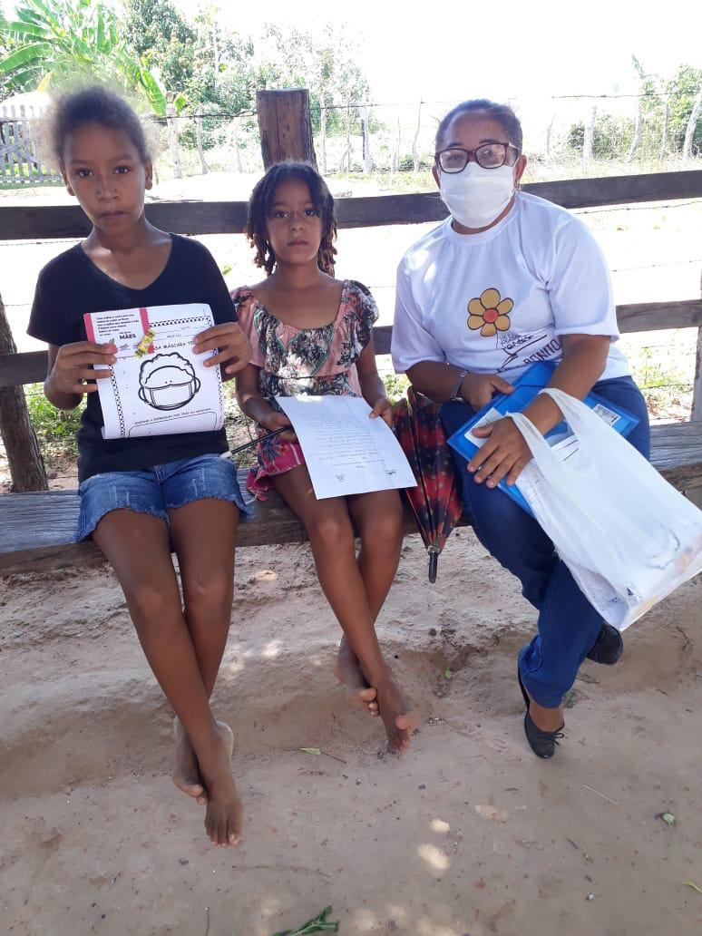 Crianças de Cajazeiras do Piauí  recebem atividades do SCFV - Imagem 2