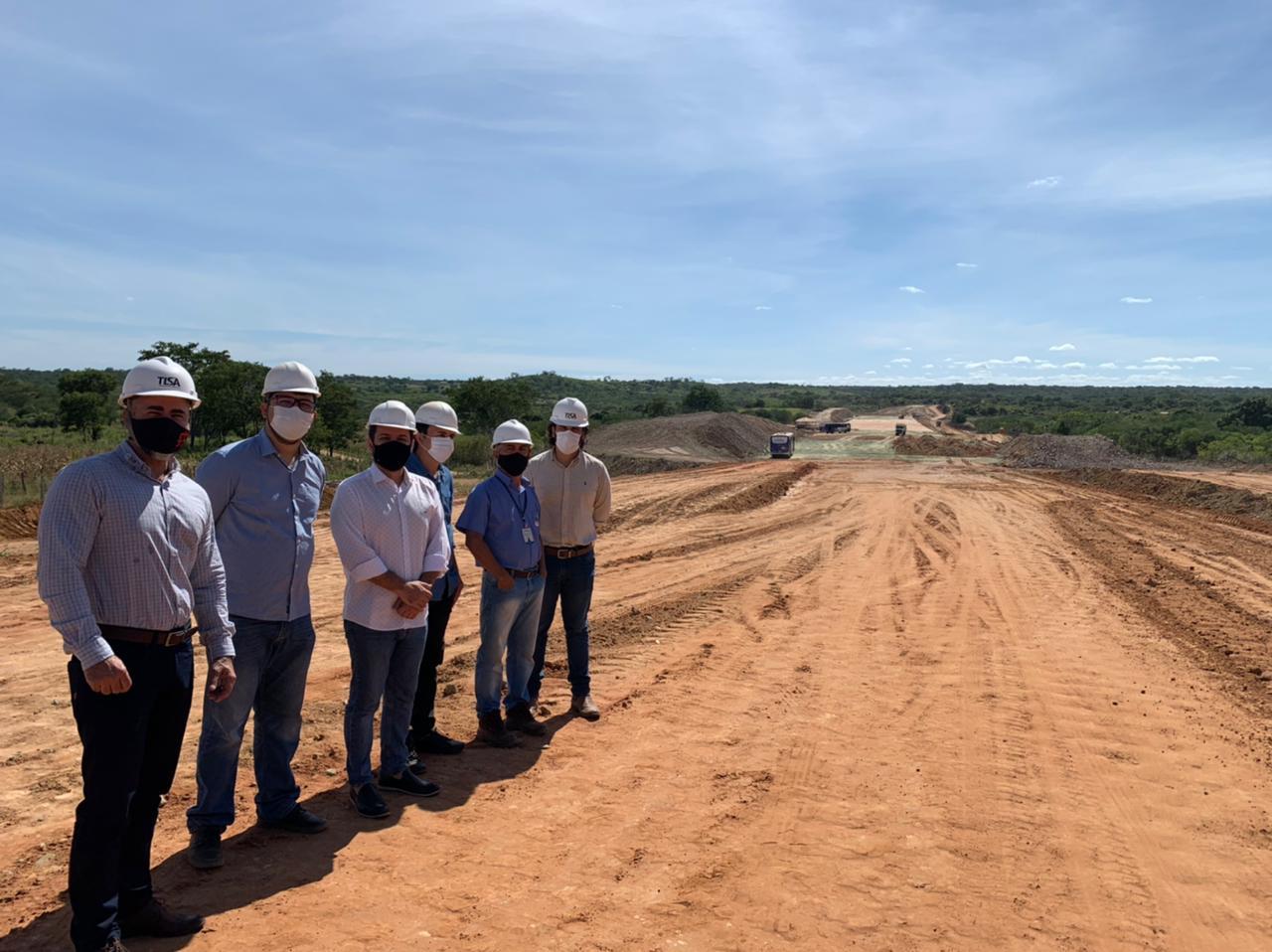 Visita técnica ocorreu em São José do Fidalgo (Foto: Ascom)